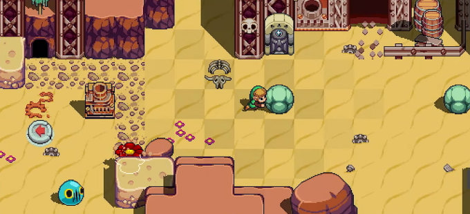 The Legend of Zelda y su presencia en Cadence of Hyrule