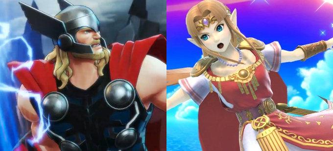 Marvel quiere a sus personajes en Super Smash Bros.