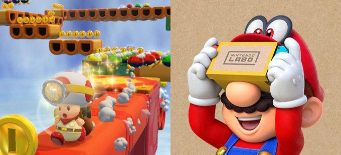 Nintendo Labo: VR Kit soportará Captain Toad: Treasure Tracker