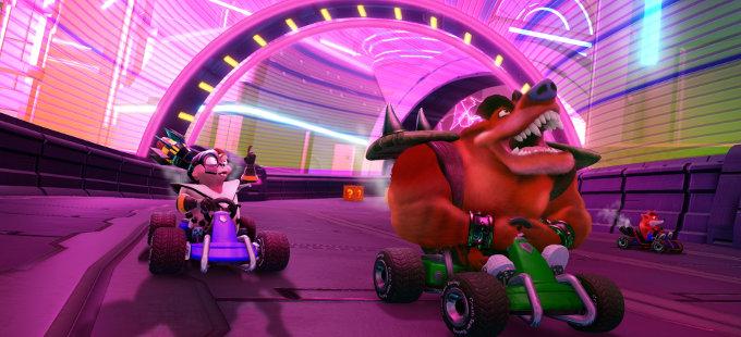 Crash Team Racing Nitro-Fueled para Nintendo Switch mejorará sus tiempos de carga