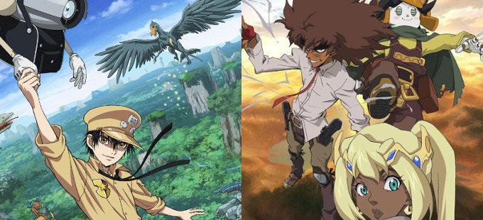 Gunjou no Magmell y Cannon Busters destacados por Netflix