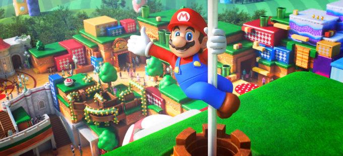 ¿Así se verá Super Nintendo World terminado?