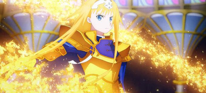 Tercera temporada de Sword Art Online desde la Anime Expo 2019