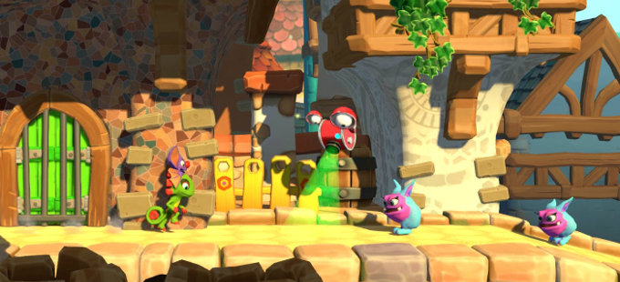 Yooka-Laylee and the Impossible Lair – Conoce sus niveles alternos