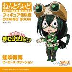 Nendoroid Tsuyu Asui: Hero's Edition de Boku no Hero Academia