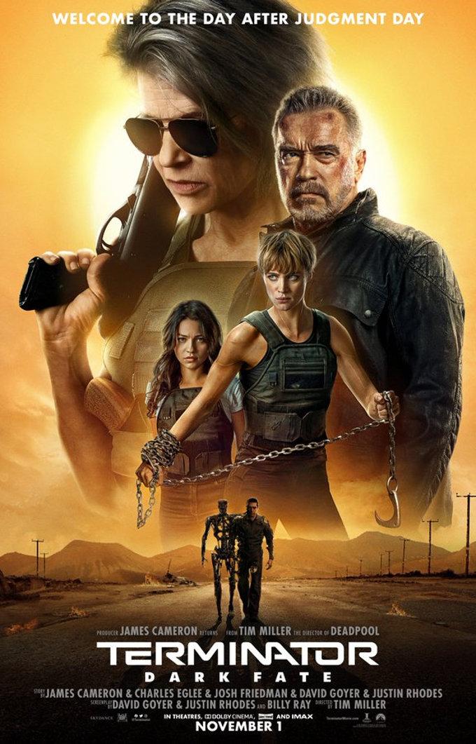 Terminator: Destino Oculto estrena nuevo y espectacular tráiler