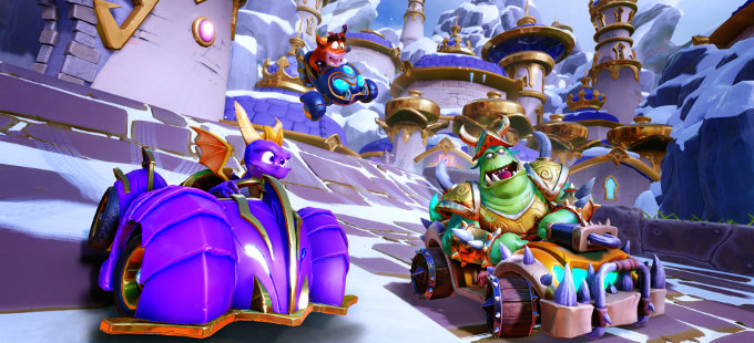 Festeja la salida de Spyro Reignited Trilogy para Nintendo Switch con Crash Team Racing