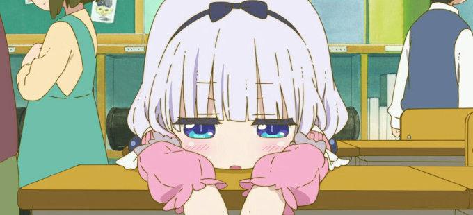 Día triste para fans de Kobayashi-san Chi no Maid Dragon y Lucky Star