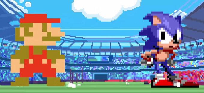 Mario & Sonic at the Olympic Games recuerda a Tokyo 1964 con su modo retro