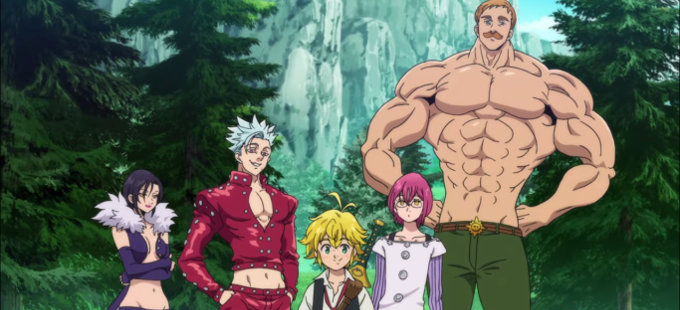 ¿Cuánto durará la tercera temporada de Nanatsu no Taizai?