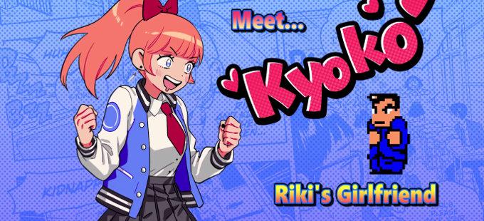 Kyoko se presenta en River City Girls para Nintendo Switch