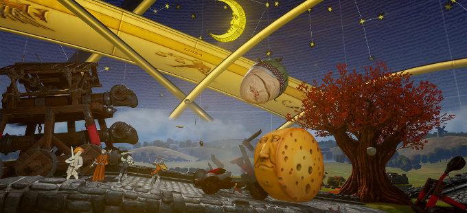 Rock of Ages III: Make & Break para Nintendo Switch anunciado
