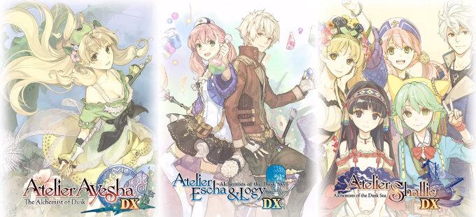 Atelier Dusk Trilogy Deluxe Pack para Nintendo Switch revelada