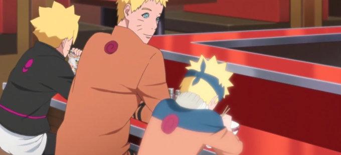 Naruto del pasado conociendo a Boruto es como Volver al futuro