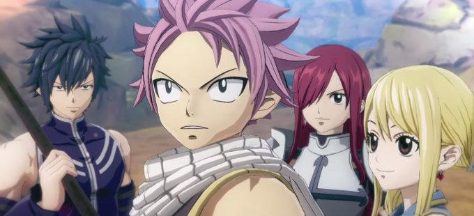 Fairy Tail tendrá un RPG de Gust y Koei Tecmo en 2020