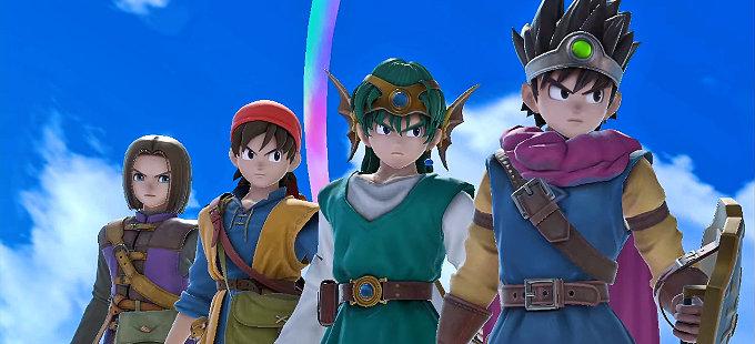 Super Smash Bros. Ultimate: Héroe de Dragon Quest baneado de torneos