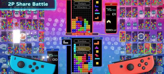 ¿Qué hay de nuevo con Tetris 99 para Nintendo Switch?