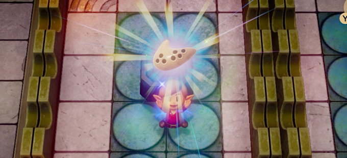 The Legend of Zelda: Link's Awakening y la tierna historia de un músico