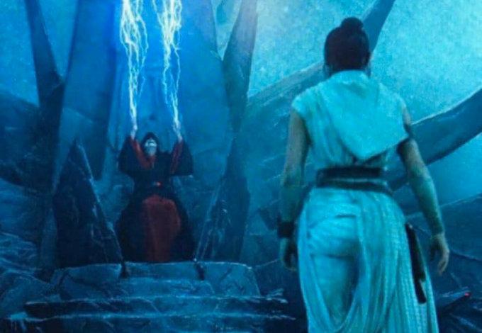 ¿Así es el rostro del Emperador Palpatine en Star Wars: The Rise of Skywalker?