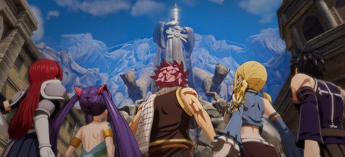 Fairy Tail para Nintendo Switch y el apoyo de Hiro Mashima