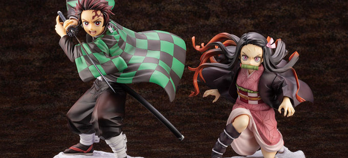 Kimetsu no Yaiba: Las figuras de Tanjirou y Nezuko ya pueden reservarse