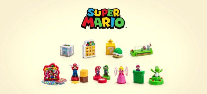 Nuevos juguetes de Mario Bros. en la Cajita Feliz en México en 2019