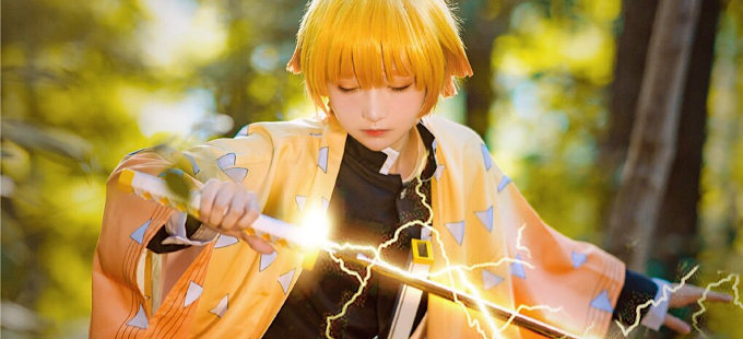 Kimetsu no Yaiba: Zenitsu consigue un 'electrizante' cosplay