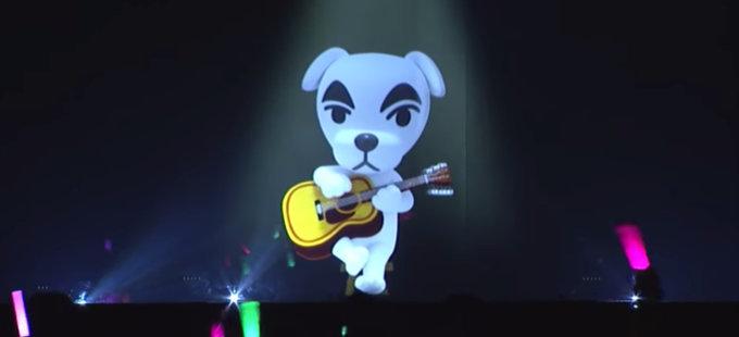 K.K. Slider de Animal Crossing sorprende en el concierto de Splatoon 2