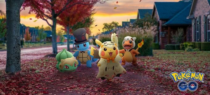Pokémon GO Halloween 2019 inicia esta semana