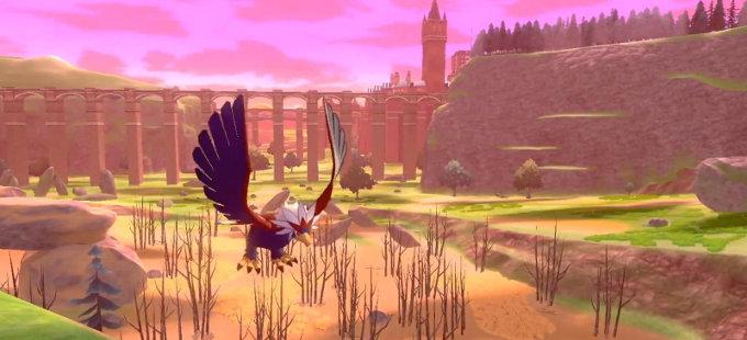 Pokémon Sword & Shield: Revelado el mapa de la Wild Area
