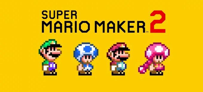 Super Mario Maker 2: ¡Ya puedes jugar con tus amigos!