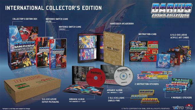 Darius Cozmic Collection International Collector's Edition