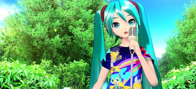 Hatsune Miku: Project Diva MegaMix te dejará personaliza tus playeras