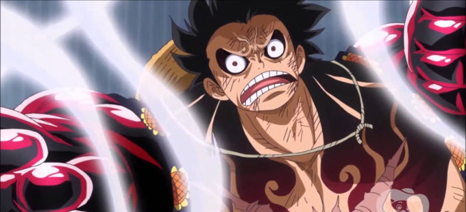 One Piece: Mira esta bella escultura de Boundman Monkey D. Luffy