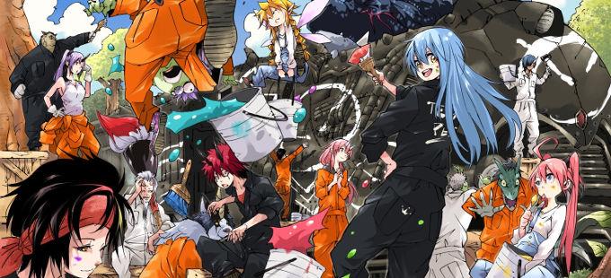 Tensei Shitara Slime Datta Ken es la novela ligera más vendida de 2019