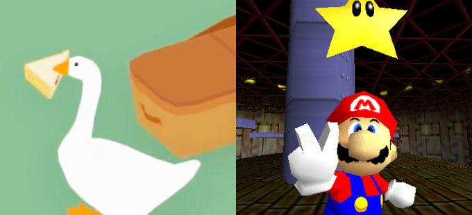 Super Mario 64 influyó mucho en Untitled Goose Game