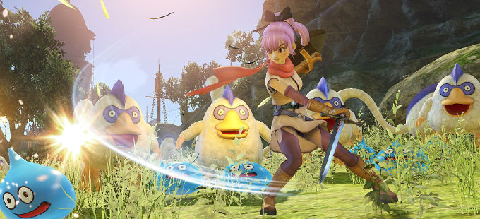 Dragon Quest Heroes I & II para Nintendo Switch podría llegar a Occidente