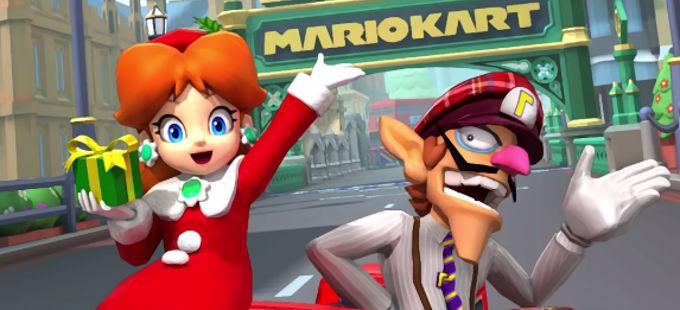 Mario Kart Tour: Conoce los nuevos personajes, vehículos y pistas del London Tour