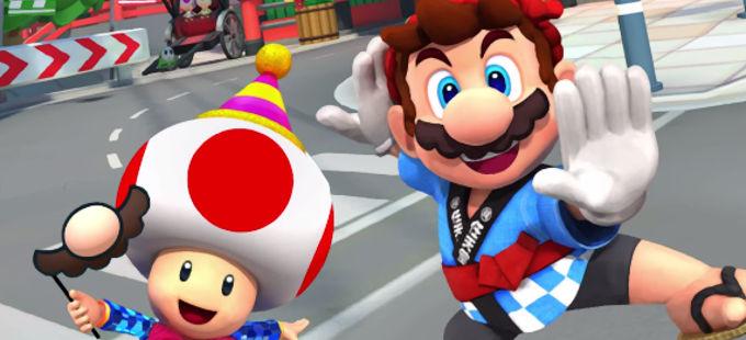 Mario Kart Tour: Conoce los nuevos personajes y vehículos del New Year's Tour