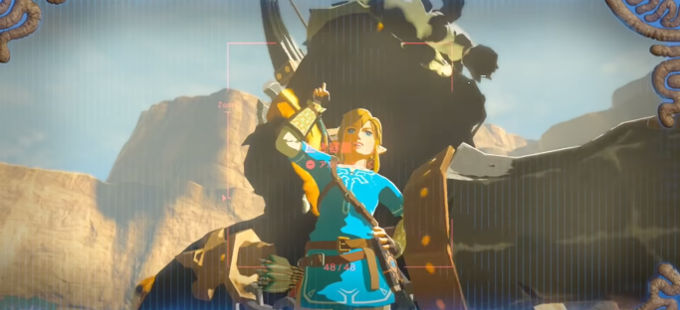 The Legend of Zelda: Breath of the Wild: Jugador mata Golden Lynel en 1/2 minuto