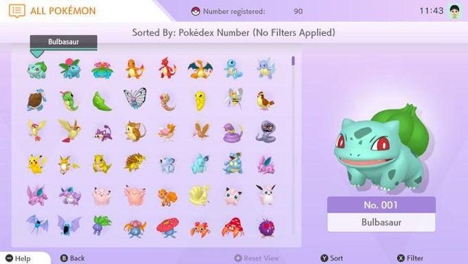 Pokémon HOME revela precio y forma de trabajar