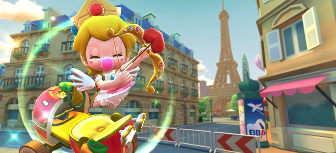 Mario Kart Tour: Conoce los nuevos personajes, vehículos y pistas del Valentine Tour
