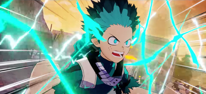 Boku no Hero Academia: Deku vs. Overhaul en My Hero One's Justice 2