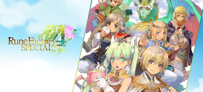 Rune Factory 4 Special para Nintendo Switch ya tiene fecha de salida