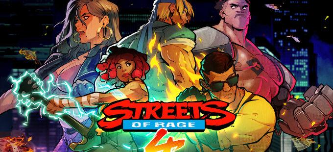 Streets of Rage 4 para Nintendo Switch saldrá en primavera