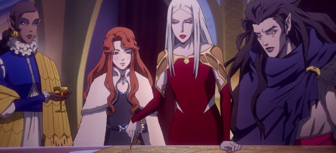 Tercera temporada de Castlevania de Netflix estrena primer tráiler
