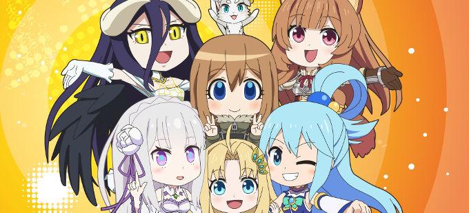 Tercera temporada de Isekai Quartet anunciada