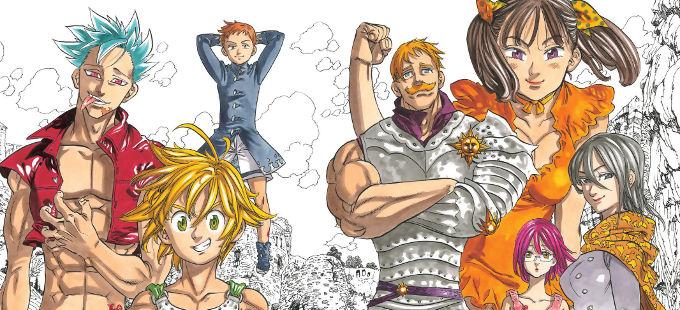 Manga de Nanatsu no Taizai, el final ya tiene fecha