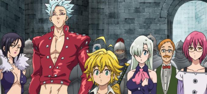 Tercera temporada de Nanatsu no Taizai llegará a Netflix en verano