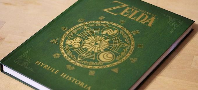 The Legend of Zelda: Hyrule Historia saldrá en formato digital